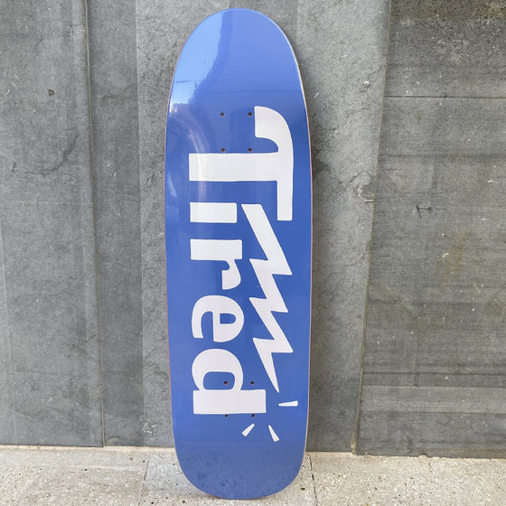 Tired Skateboards Logo One on Cigar 9.25 Skateboard Deck -Tabla Skate - Furtivo! Skateboarding