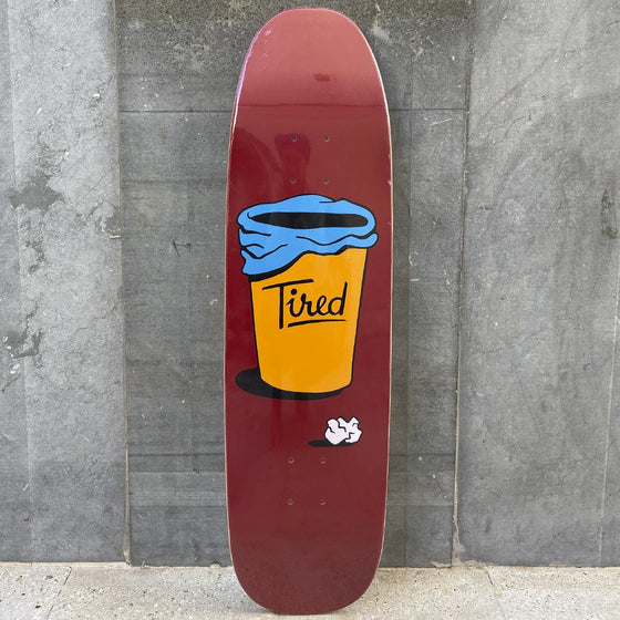 Tired Skateboards close enough chuck 8,6 Skateboard Deck -Tabla Skate - Furtivo! Skateboarding