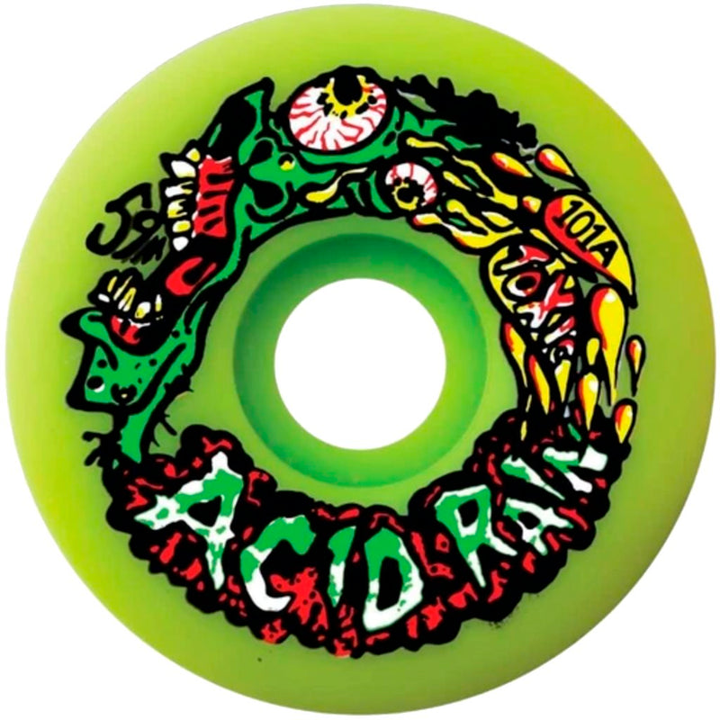 Toxic Skateboards Acid Rain 59mm 101A Wheels- Ruedas - Furtivo! Skateboarding