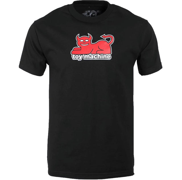 Toy Machine Devil cat Black T-Shirt- Camiseta Ropa Toy Machine