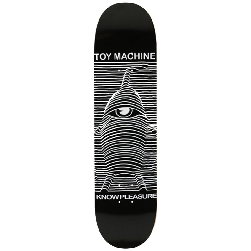 Toy Machine 8.5 Toy Division Skateboard Deck- Tabla Skate - Furtivo! Skateboarding