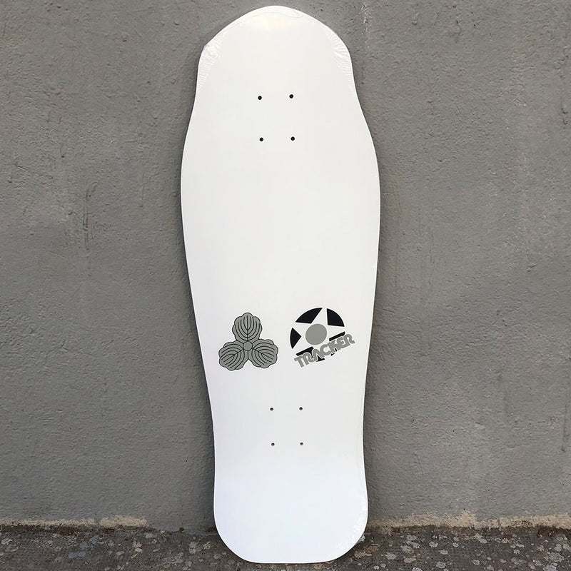 Tracker Lester Kasai Oak Leaf Reissue Skateboard Deck -Tabla Skate - Furtivo! Skateboarding