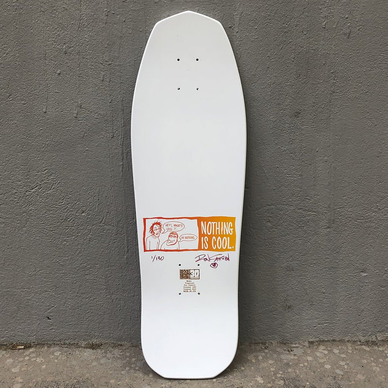 Blockhead Skateboards Tragicomic Ron Cameron Reissue Skateboard Deck- Tabla Skate - Furtivo! Skateboarding