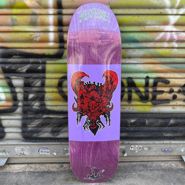 Welcome Menagerie 9.0 Skateboard Deck - Tabla de Skate Tablas Welcome Skateboards