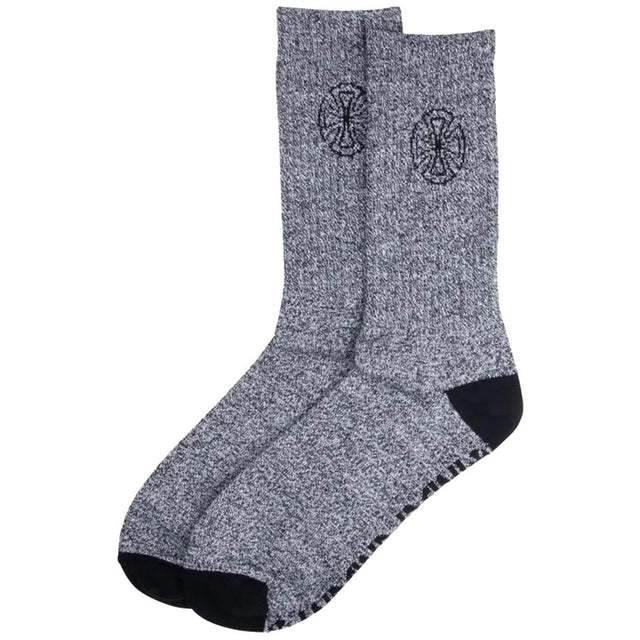Independent B/C Cast Marled Black Socks - Calcetines Calcetines Independent