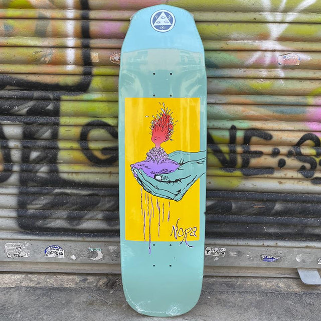 "Welcome ""Soil"" Nora Vasconcellos 8.6 Pro Model Skateboard Deck - Tabla de Skate Tablas Welcome Skateboards"