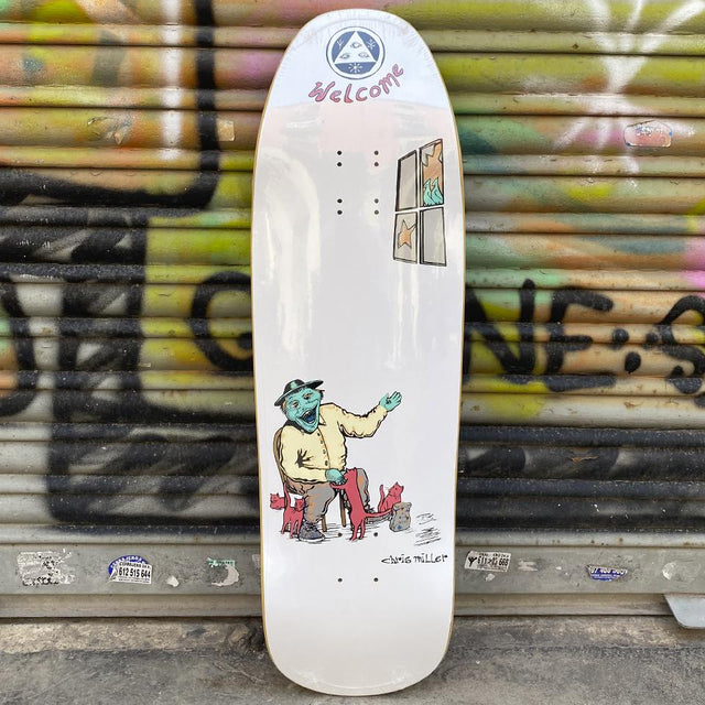 "Welcome ""Bird Feeder"" Chris Miller 9.6 Pro Model Skateboard Deck - Tabla de Skate Tablas Welcome Skateboards"