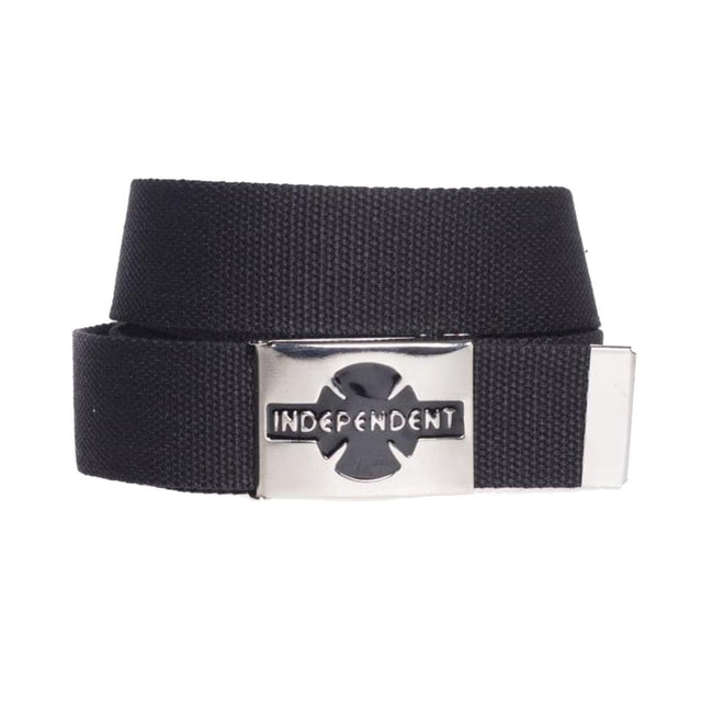 Independent Clipped Black Belt - Cinturón Accesorios Independent