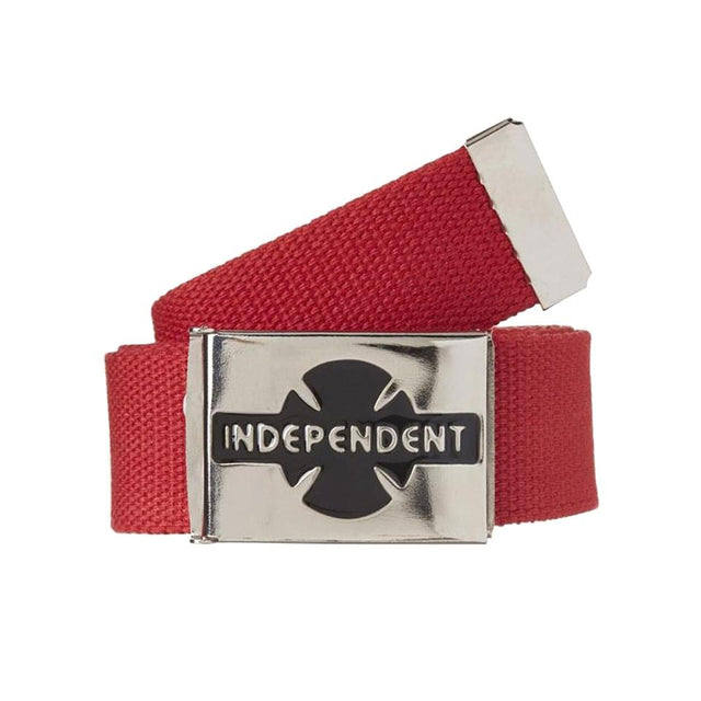Independent Clipped Cardinal Red Belt - Cinturón Accesorios Independent