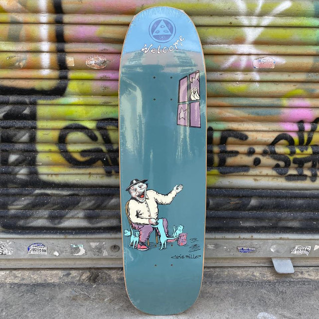 "Welcome ""Bird Feeder"" Chris Miller 8.75 Pro Model Skateboard Deck - Tabla de Skate Tablas Welcome Skateboards"