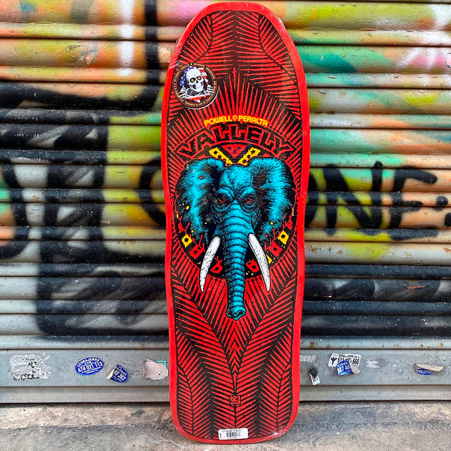 Powell Peralta Mike Vallely Elephant Old School Reissue 10.0 Skateboard Deck- Tabla - Furtivo! Skateboarding