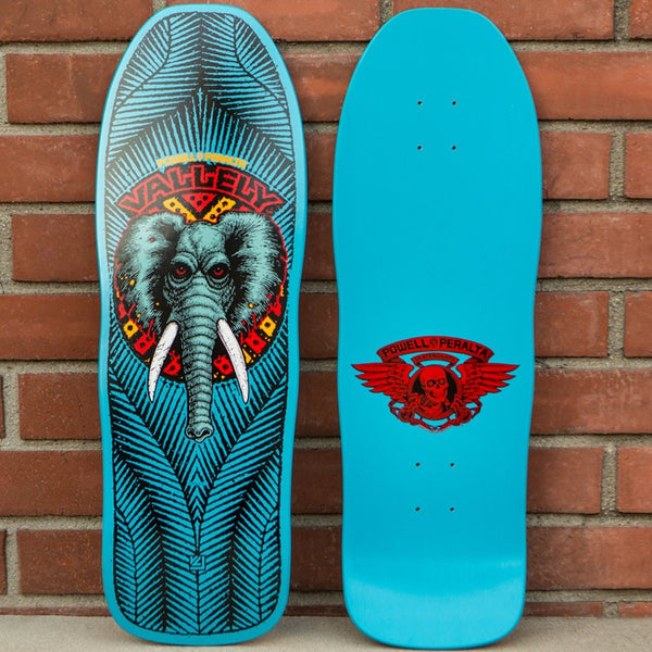 Powell Peralta Mike Vallely Elephant Old School Reissue 10.0 Skateboard Deck- Tabla - Furtivo Skateboarding