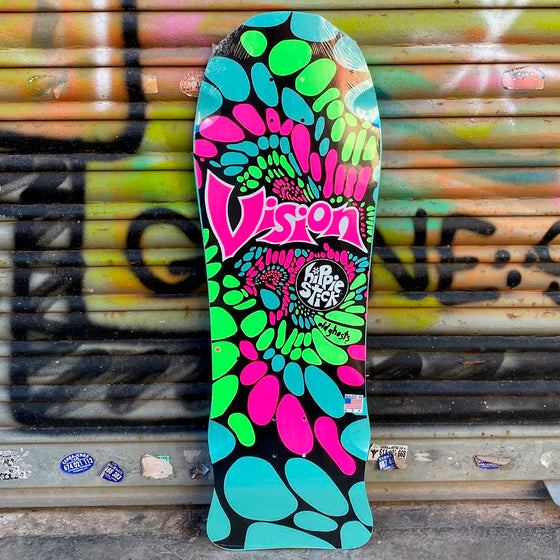 Vision Og Hippie Stick Reissue Skateboard Deck - Tabla Skate - Furtivo! Skateboarding