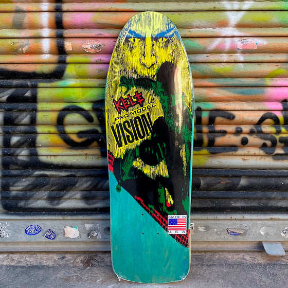 "Vision Kele Pro model Og Reissue Skateboard Deck 9.75""x30.875""- Tabla Skate - Furtivo! Skateboarding"
