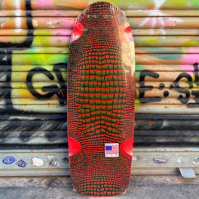 VISION Reptile Red Skateboard Deck Reissue- Tabla Skate Tablas Vision Skateboards