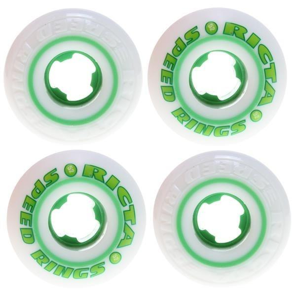 RUEDAS/WHEELS RICTA SPEEDRINGS WHITE GREEN 52