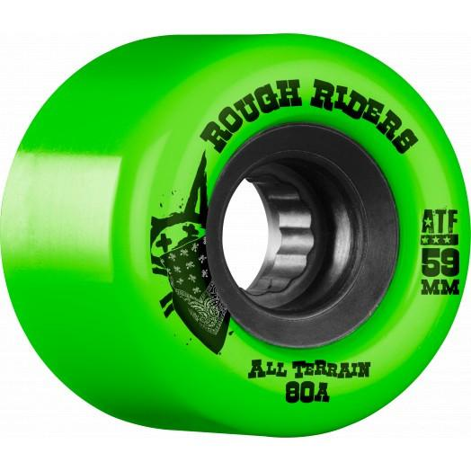 Bones Wheels ROUGH RIDERS ATF 59MM- Ruedas - Furtivo Skateboarding