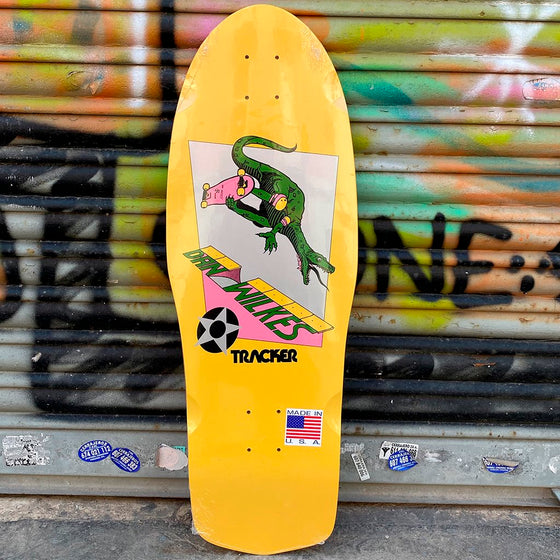 Tracker Dan Wilkes Dino Channel Air Reissue Skateboard Deck -Tabla Skate - Furtivo! Skateboarding
