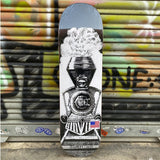 Willys Work Shop Train 8,5 Skateboard Deck -Tabla Skate - Furtivo! Skateboarding