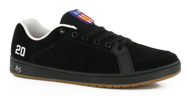 Zapatilla ÉS SAL BLACK Skate Shoe Reissue - Furtivo Skateboarding