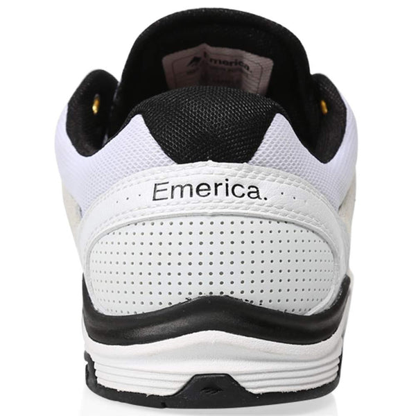 Zapatilla Emerica The WESTGATE  White/Black Skate Shoe