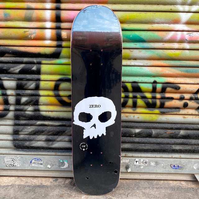 Zero Single Skull 7.75 Skateboard Deck-Tabla Skate Tabla/Deck Zero Skateboards