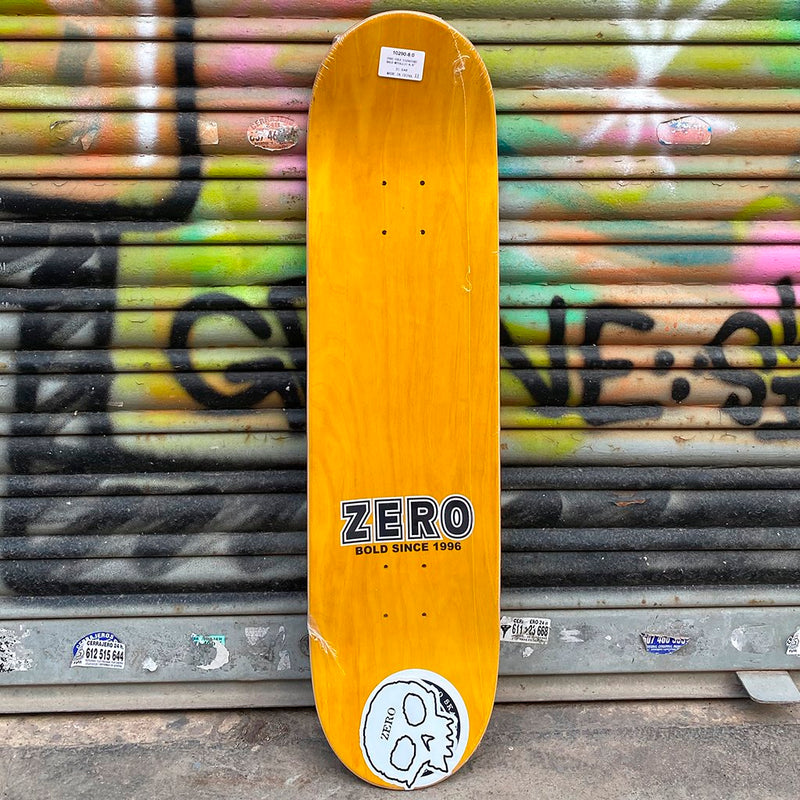 Zero Cole Bold Metallic 8.0 Skateboard Deck-Tabla Skate Tabla/Deck Zero Skateboards