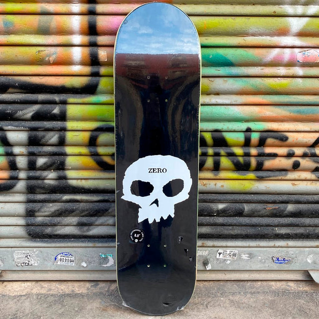 Zero Single Skull 8.0 Skateboard Deck-Tabla Skate Tabla/Deck Zero Skateboards