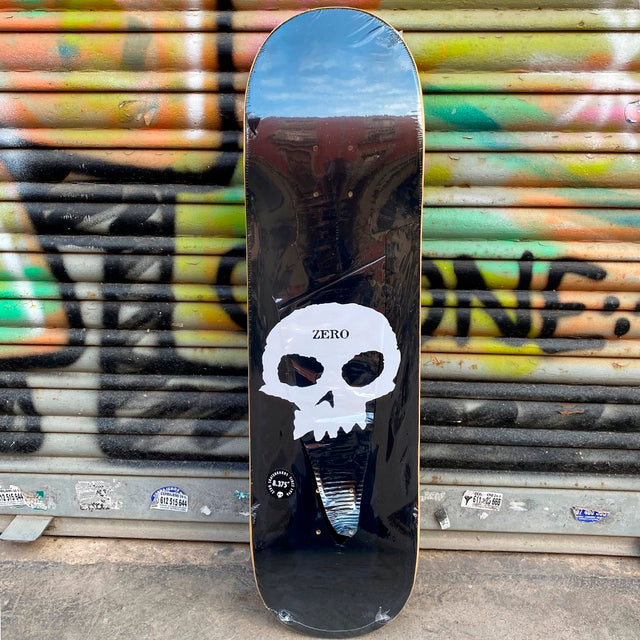 Zero Single Skull 8.375 Skateboard Deck-Tabla Skate Tabla/Deck Zero Skateboards