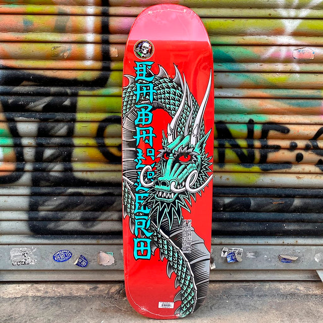 Powell Peralta Caballero Ban This Black Red 9.26x32 Skateboard Deck Reissue- Tabla - Furtivo! Skateboarding