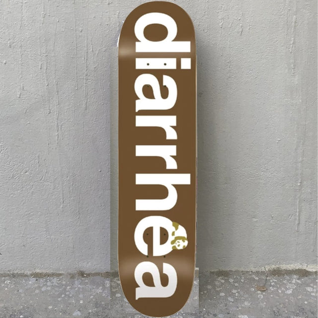 Enjoi Diarrhea Brown 8.25 R7 Skateboard Deck- Tabla Skate - Furtivo! Skateboarding