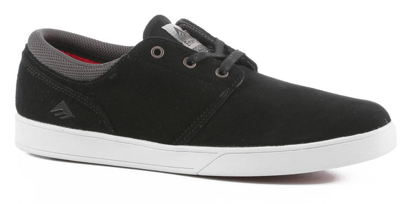 Emerica The Figueroa Black/White Skate Shoe-Zapatillas - Furtivo Skateboarding