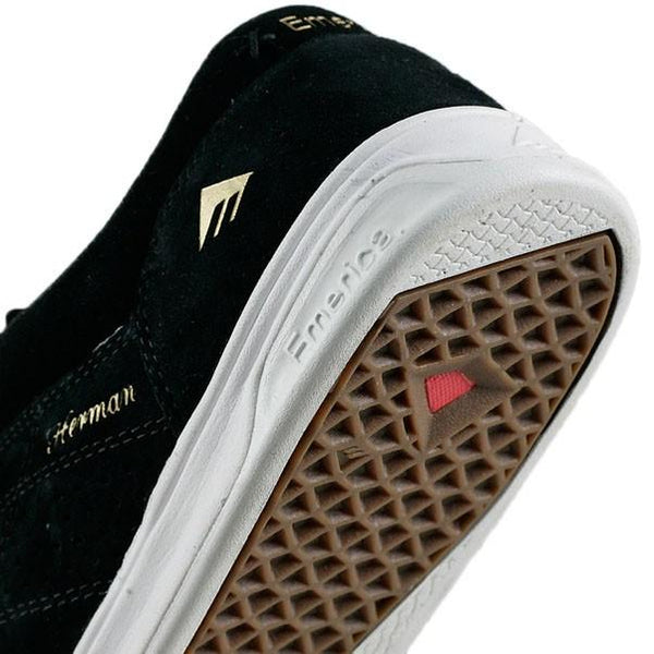 Zapatilla Emerica The Herman Black/White Skate Shoe
