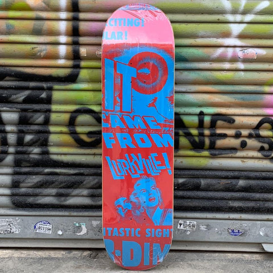 Lurkville ICFL Red/Blue 8.5 Skateboard Deck - Tabla Skate Tabla/Deck Lurkville