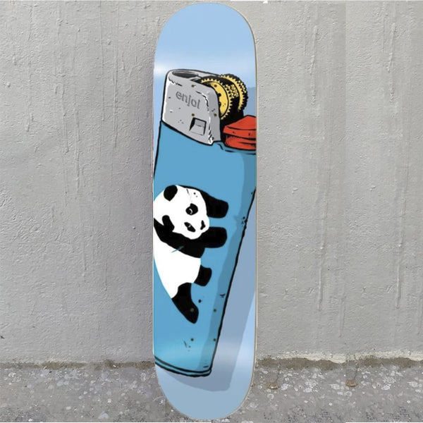 Enjoi Blue Lighter 8.375 R7 Skateboard Deck- Tabla Skate - Furtivo! Skateboarding