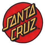 Santa Cruz Dot Logo Patch -Accesorio - Furtivo! Skateboarding