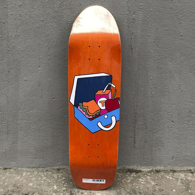 Tabla Tired Skateboards Slick Packed Lunch Skateboard Deck -Tabla Skate - Furtivo! Skateboarding