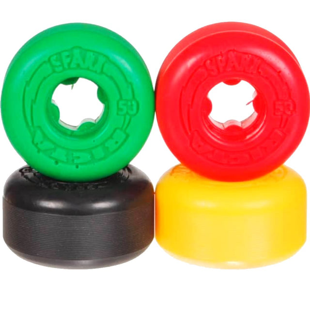 RICTA Wheels Sparx Shock Waves Rasta 53mm-Rueda - Furtivo! Skateboarding
