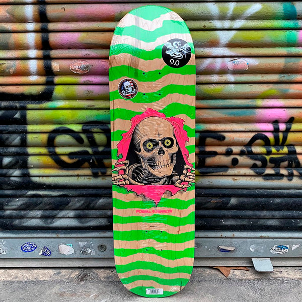 Powell Peralta Ripper Natural Green 9 x 33 Skateboard Deck- Tabla Tablas Powell Peralta