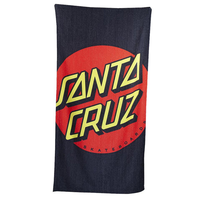 Santa Cruz Crop Dot Beach Towel - Toalla Accesorios Santa Cruz Skateboards