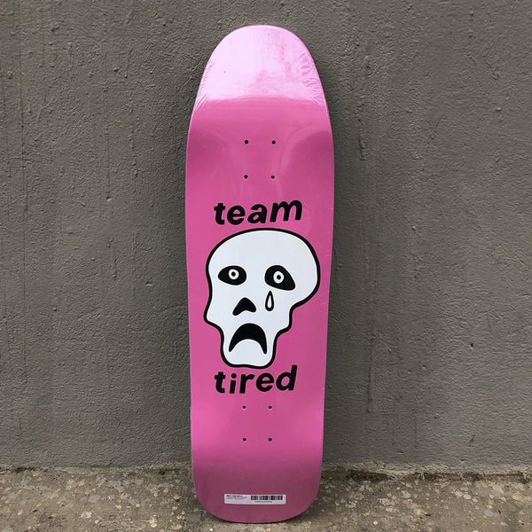 Tabla Tired Skateboards Wanderer Crappy Skull Skateboard Deck -Tabla Skate - Furtivo! Skateboarding