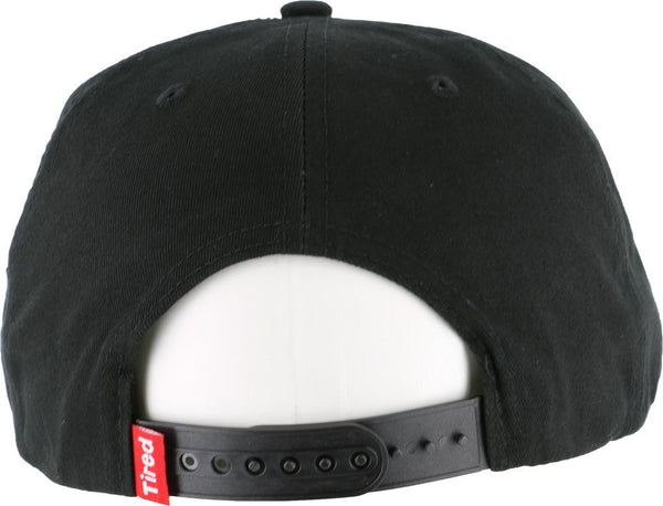 Gorra TIRED Bones hat black