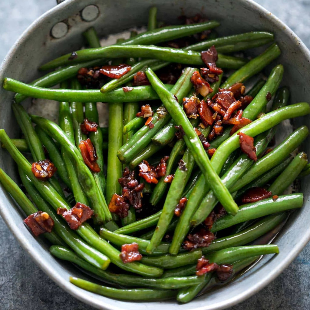 *Green Beans w/ Bacon
