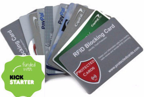 Protected Cards RFID Blocking Cards