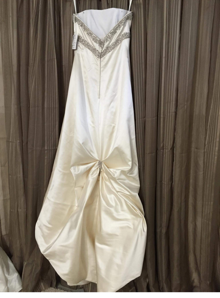 NEW Beaded & Satin Wedding Dress