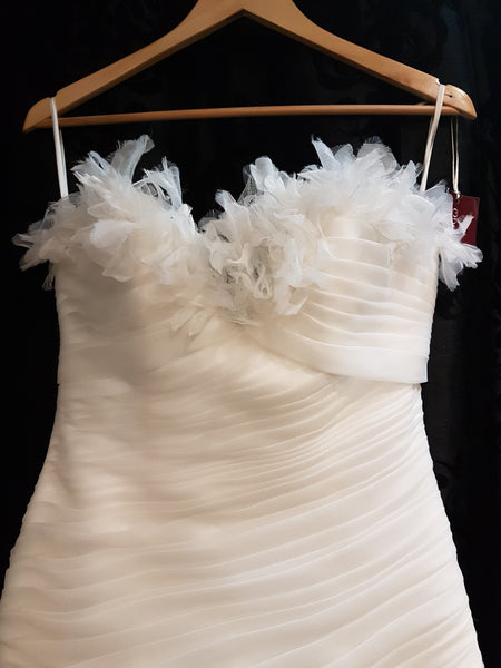 NEW Ruffle Wedding Dress