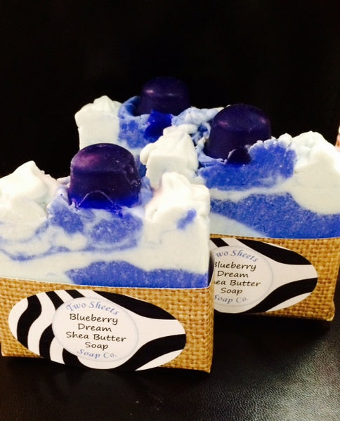Blueberry Dream Shea Butter Soap