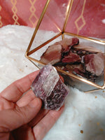 Lepidolite Slices