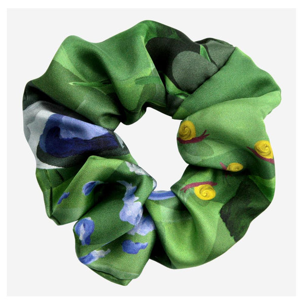 Moonlit Silk Scrunchie - Walmsley & Cole
