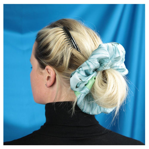 Legs Eleven Silk Super Scrunchie - Walmsley & Cole